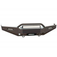 Бампер силовой передний STC для Toyota Land Cruiser 80 с защитной дугой и фарами водительского и дальнего света